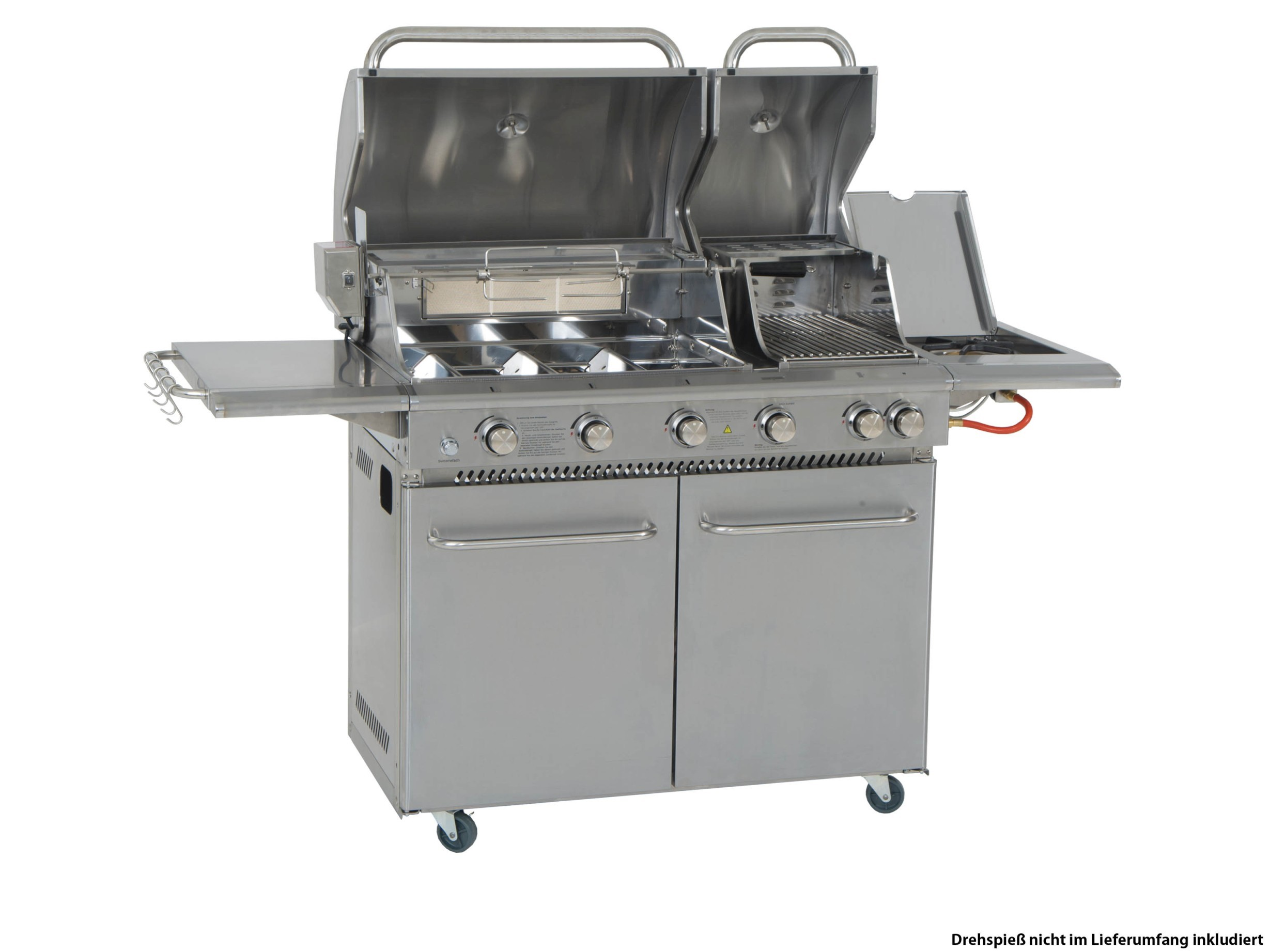 Test Gasgrill Mit Infrarotbrenner : Coobinox gasgrill double power