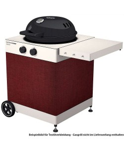 OUTDOORCHEF Arosa Textilverkleidung Velvet Red