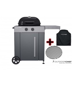 OUTDOORCHEF AROSA 570 G GREY STEEL – Premium Edition