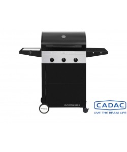Cadac Entertainer Elegance Black 3-Brenner