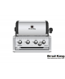 Broil King IMPERIAL 470 PRO Built In inkl. Drehspieß und Beleuchtung