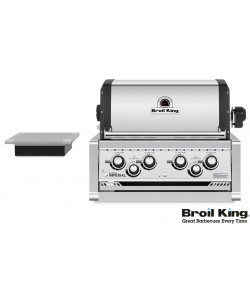 Broil King IMPERIAL™ 490 PRO Built In inkl. Drehspieß und Beleuchtung