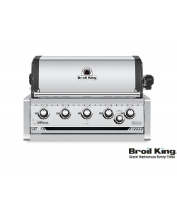 Broil King IMPERIAL 570 PRO Built In inkl. Drehspieß und Beleuchtung