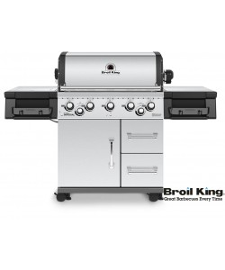 Broil King IMPERIAL™ S590 PRO inkl. Drehspieß und Beleuchtung