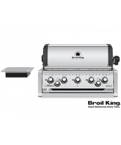Broil King IMPERIAL™ 590 PRO Built In inkl. Drehspieß und Beleuchtung