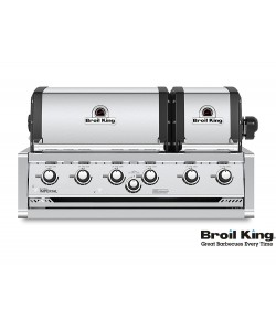 Broil King IMPERIAL™ 670 XL PRO Built In inkl. Drehspieß und Beleuchtung