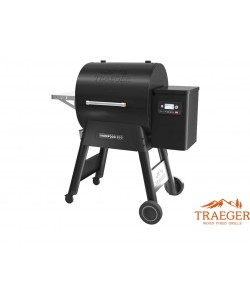 Traeger Pelletgrill Ironwood D2 650 Schwarz