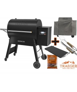 Traeger Pelletgrill Ironwood D2 885 Schwarz