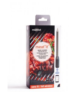 Meat it – Bluetooth Grillthermometer (ohne Kabel)