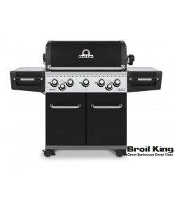 Broil King REGAL™ 590 BLACK Modell 2018 inkl. Drehspieß