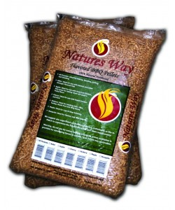 Natures Way Holzpellets Kirsche 9 kg